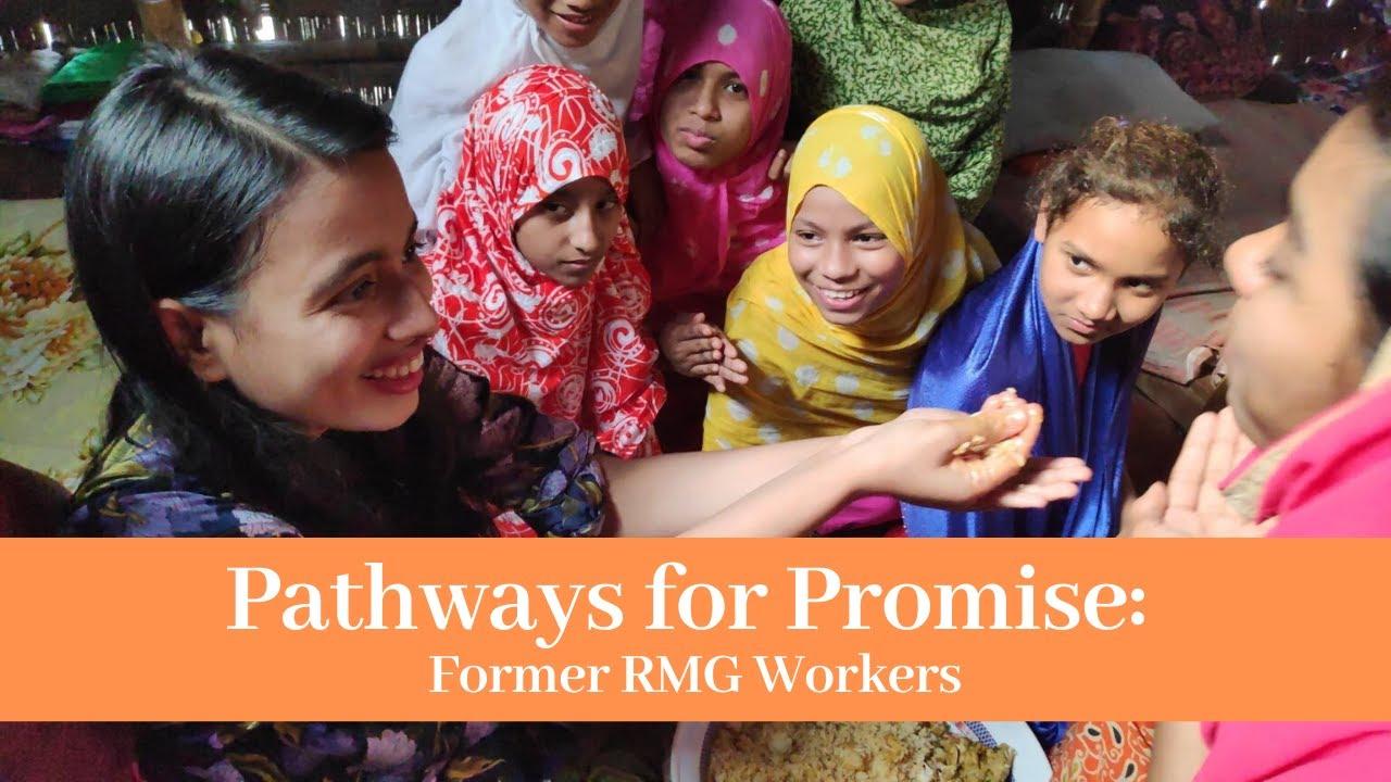 BANGLADESH, 'Pathways for Promise' una «promessa» per le sarte di t-shirt